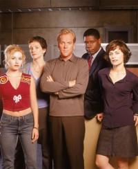 Alcuni protagonisti di 24, prima stagione
